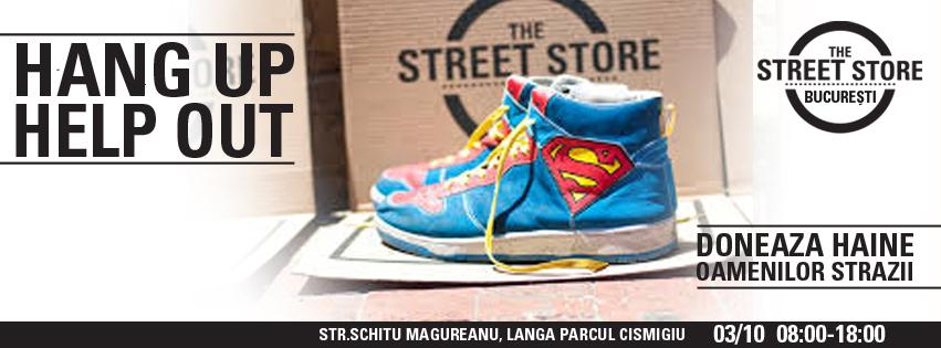 The Street Store, haine pentru persoanele defavorizate