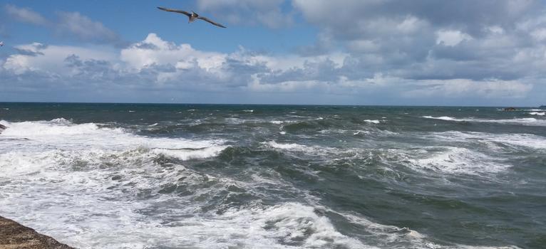 Oceanul Atlantic, Porto, Portugalia.
