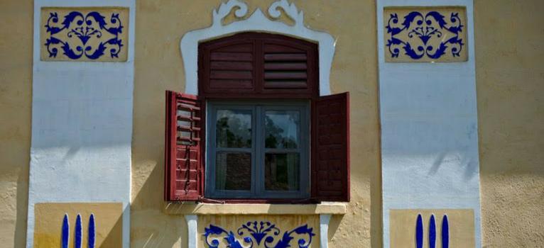 Fereastra, undeva in Romania.